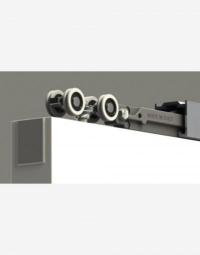 SOFT CLOSING SLIDING SYSTEM FOR INTERNAL DOOR