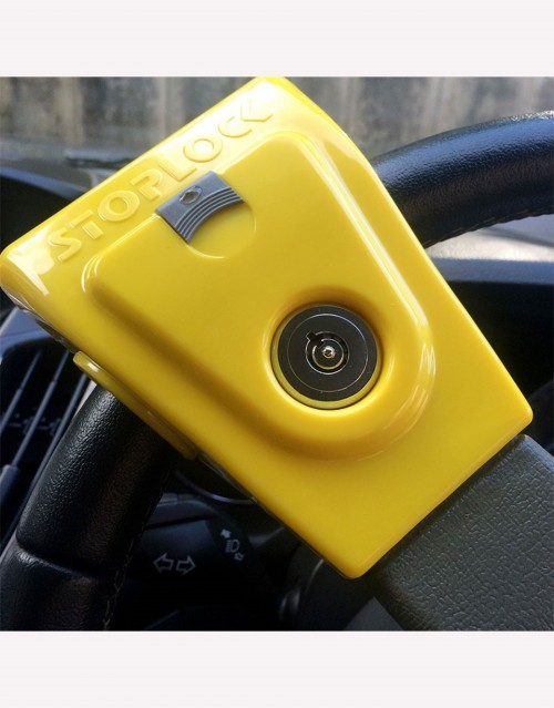 MECHANICAL ANTI-THEFT FOR STEERING WHEEL STOPLOCK AIRBAG